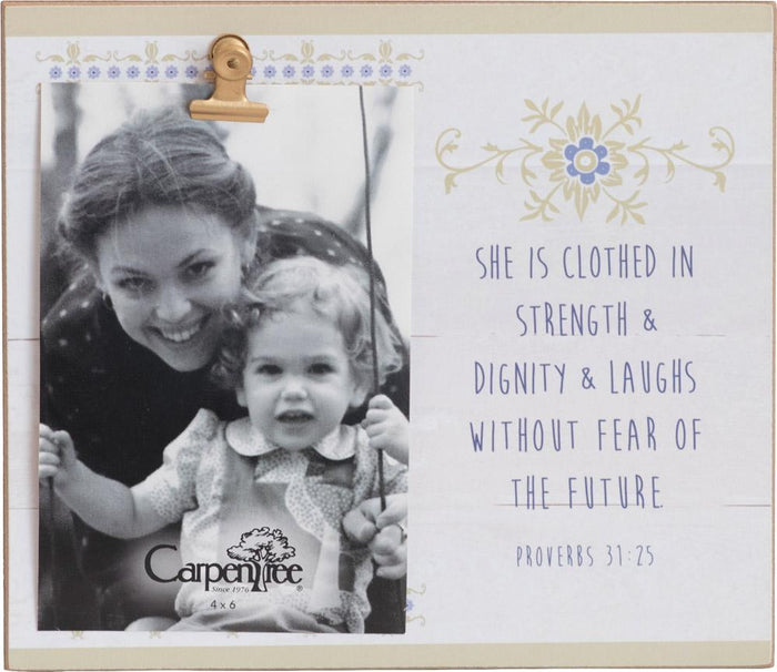 Strength and Dignity Photo Frame