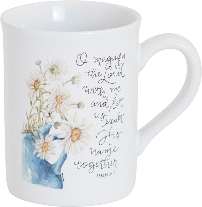 Magnify the Lord Mug - GraceLaced For Carpentree - Carpentree
