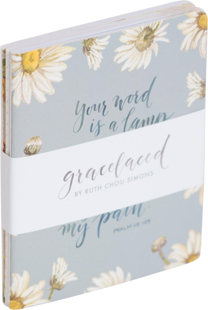 Your Word Is A Lamp 3-Pack Journals - GraceLaced For Carpentree