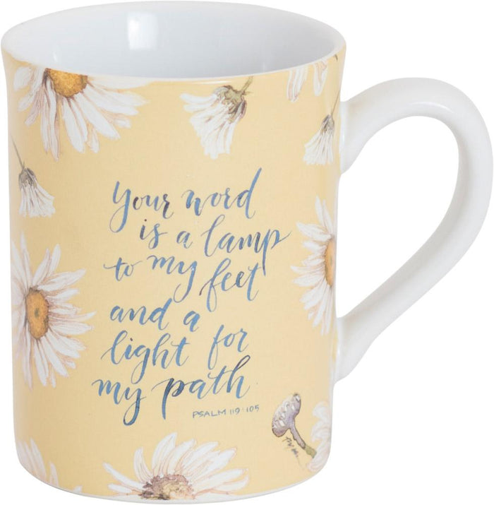 Your Word Is A Lamp Mug - GraceLaced For Carpentree - Carpentree