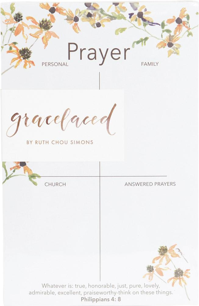 Whatever Is True Prayer Pad - GraceLaced For Carpentree