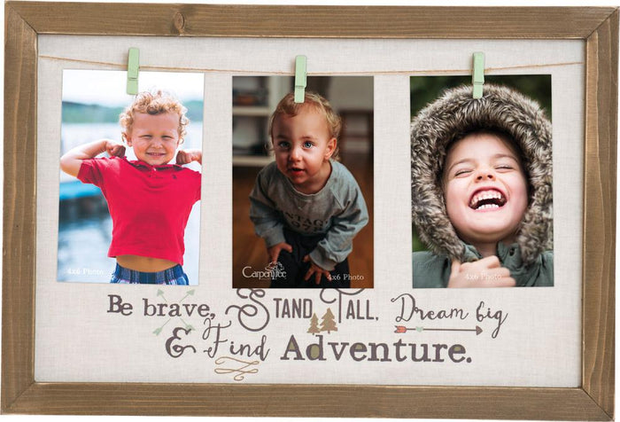 Be Brave Photo Plaque - Carpentree