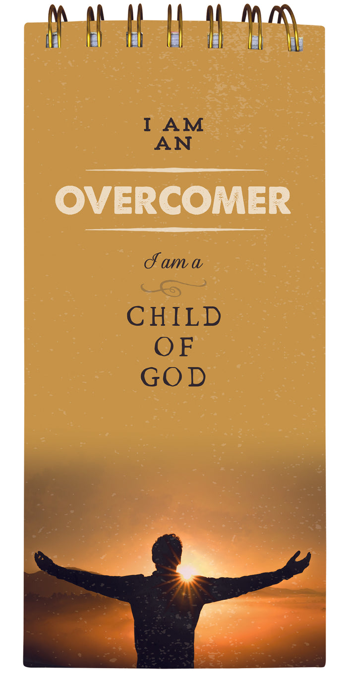 Overcomer Child of God Spiral Note Pad