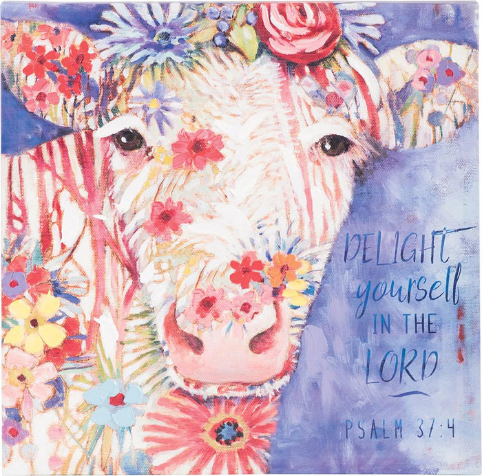 Delight Yourself Canvas - Carpentree