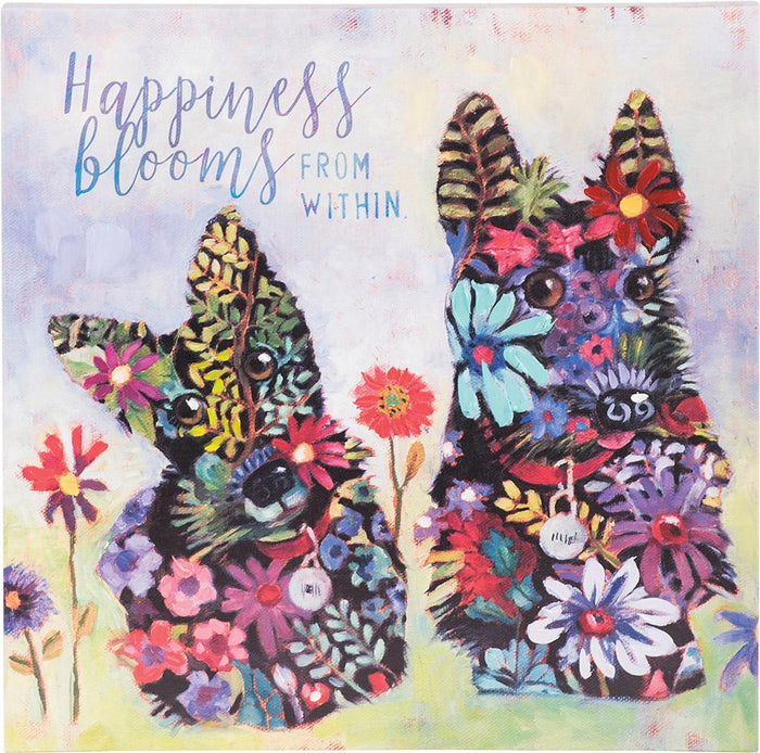 Happiness Blooms Canvas