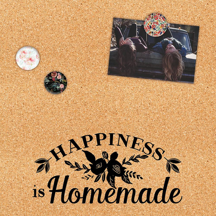 Happiness is Homemade Corkboard
