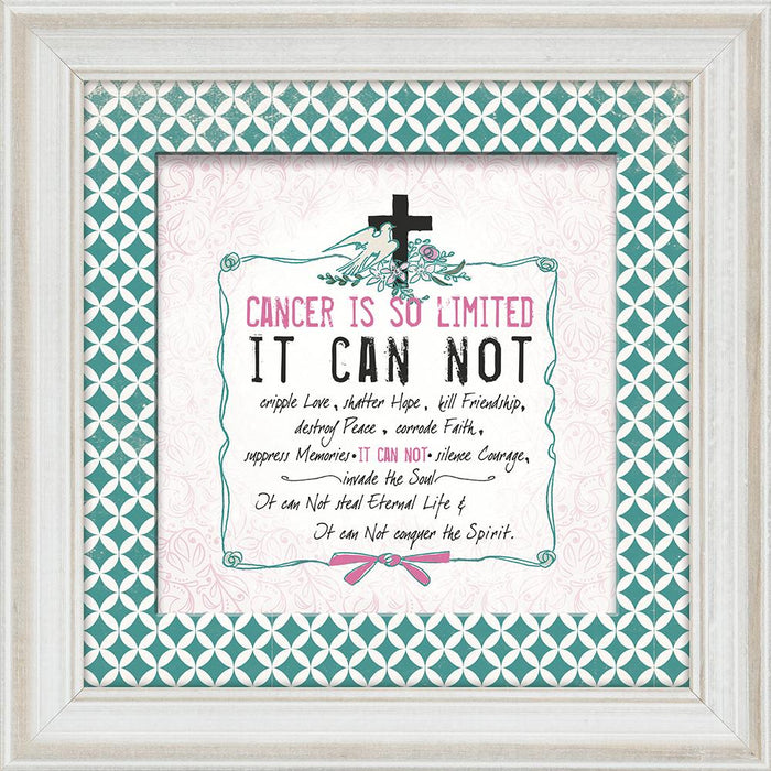 Cancer is so Limited Framed Art - Carpentree