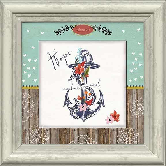 Hope Is the Anchor Framed Art