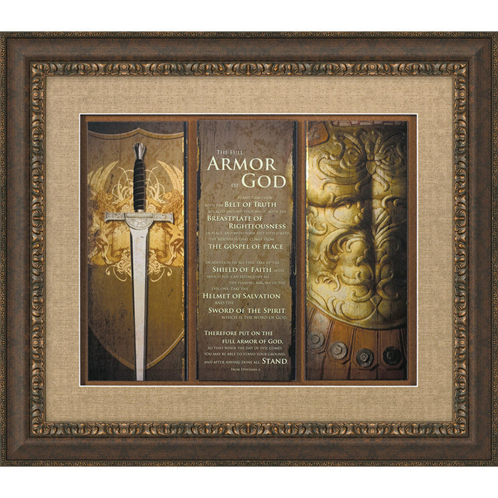 Full Armor of God Framed Art