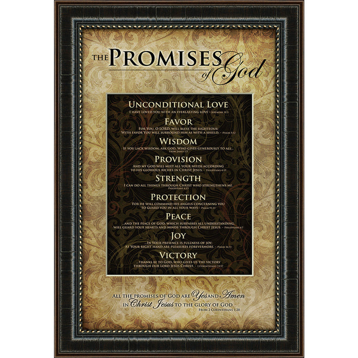 Promises of God Framed Art