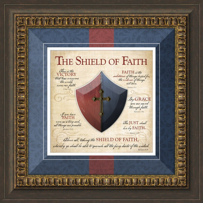 Shield of Faith Framed Art