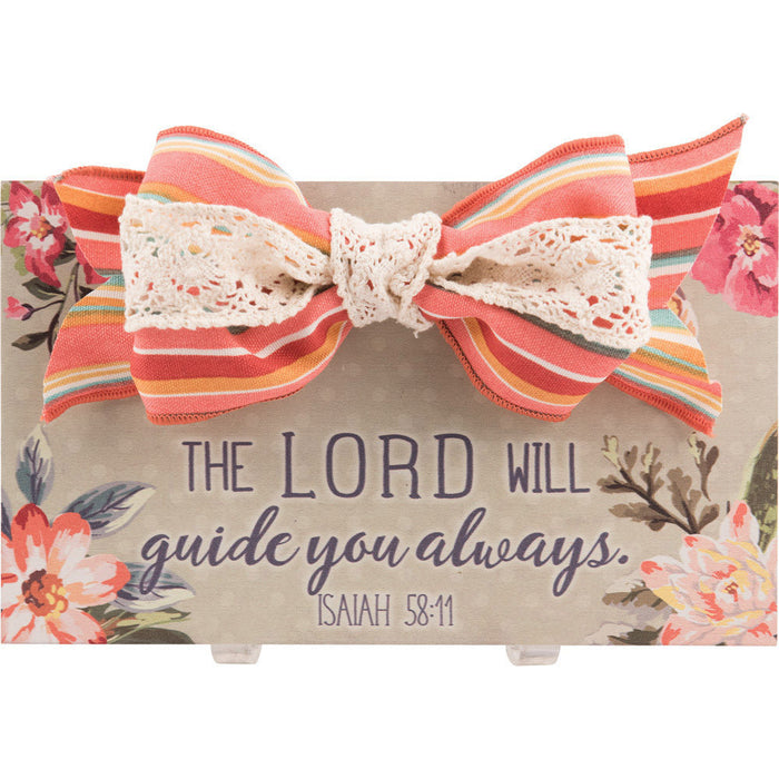 The Lord Will Guide You Always Wall Plaque