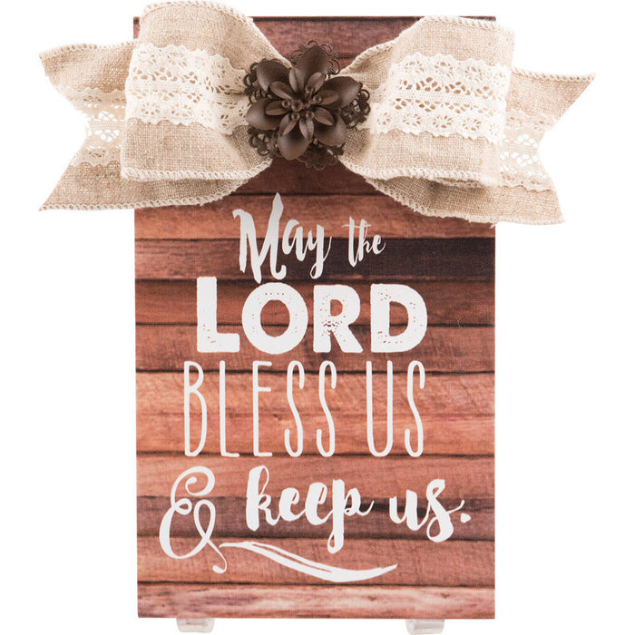 May The Lord Bless Us Plaque