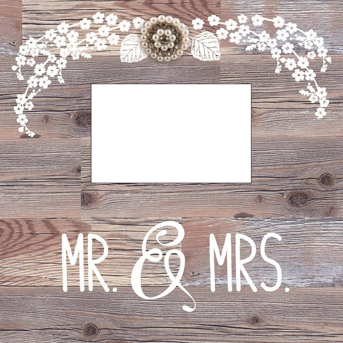 Mr. And Mrs. Large Frame