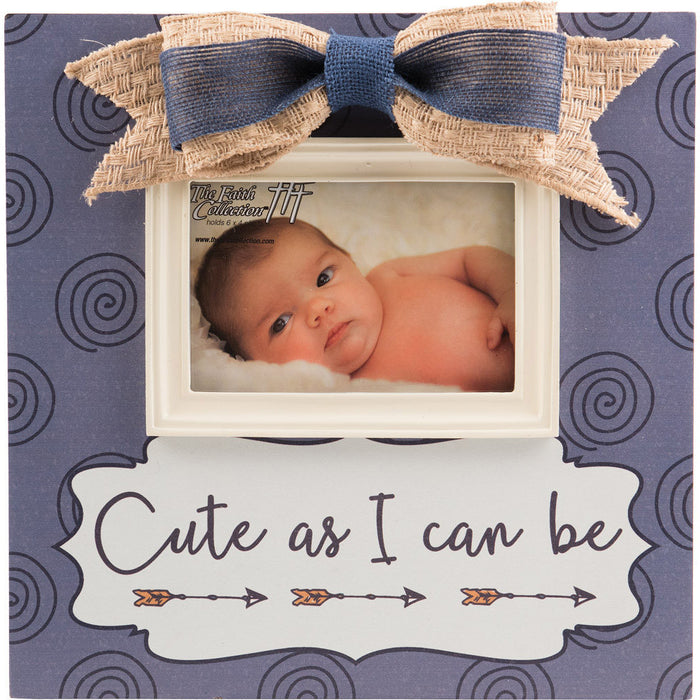 Cute As I Can Be Baby Boy Large Frame