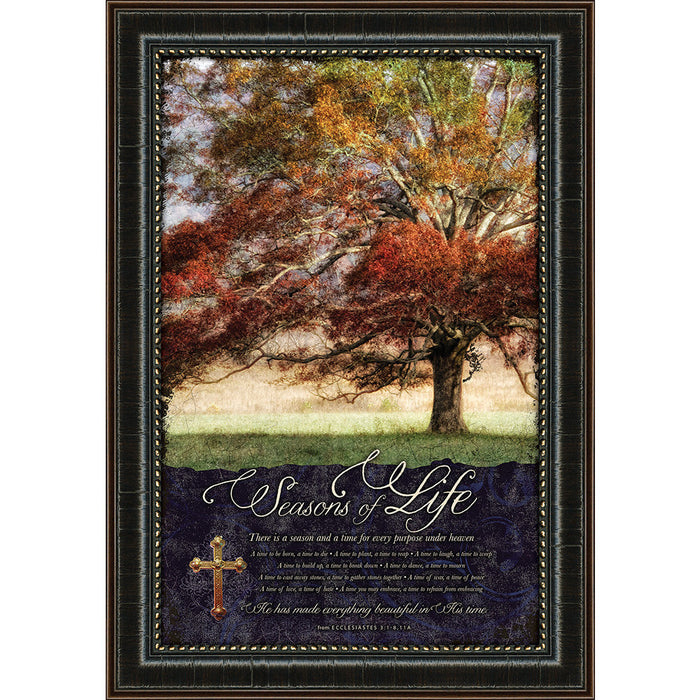 "Seasons of Life ""Sunbathed Oak"" Framed Art"