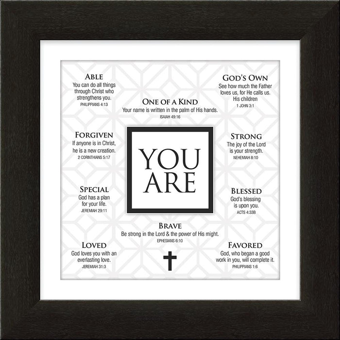 Your Are - Framed Art - Carpentree