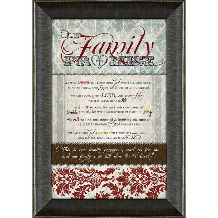 Family Promise Framed Art