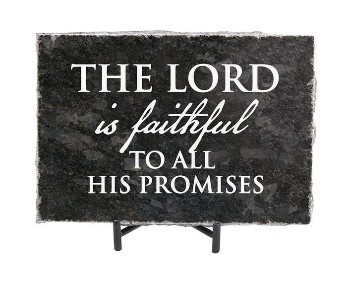 The Lord is Faithful Granite Gift
