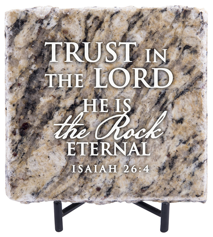 Trust in the Lord Granite Gift - Carpentree