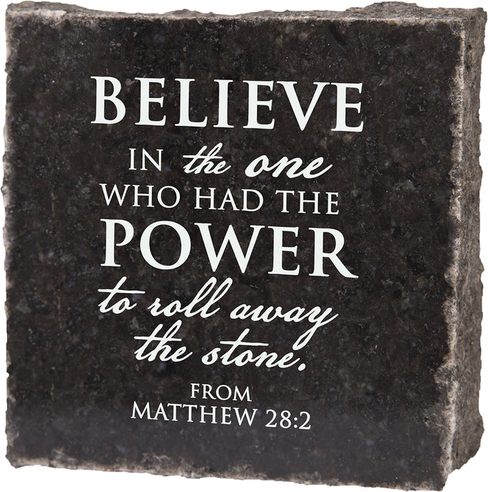 Believe in the One - Granite Gift - Carpentree