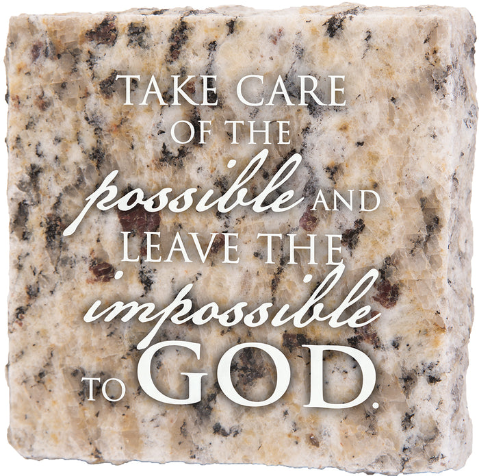 Take Care Of The Possible - Granite Gift - Carpentree