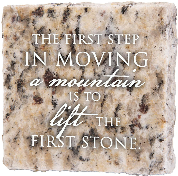 First Step Granite Plaque (41534) - Carpentree