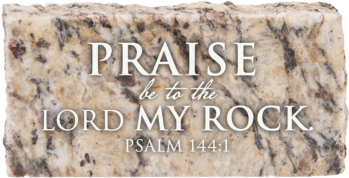Praise To The Rock - Granite Gift