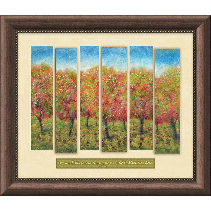 Slice of Life Trees Framed Art
