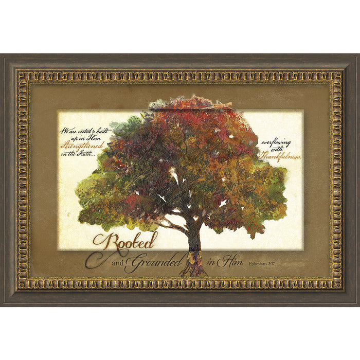 Rooted and Grounded Framed Art
