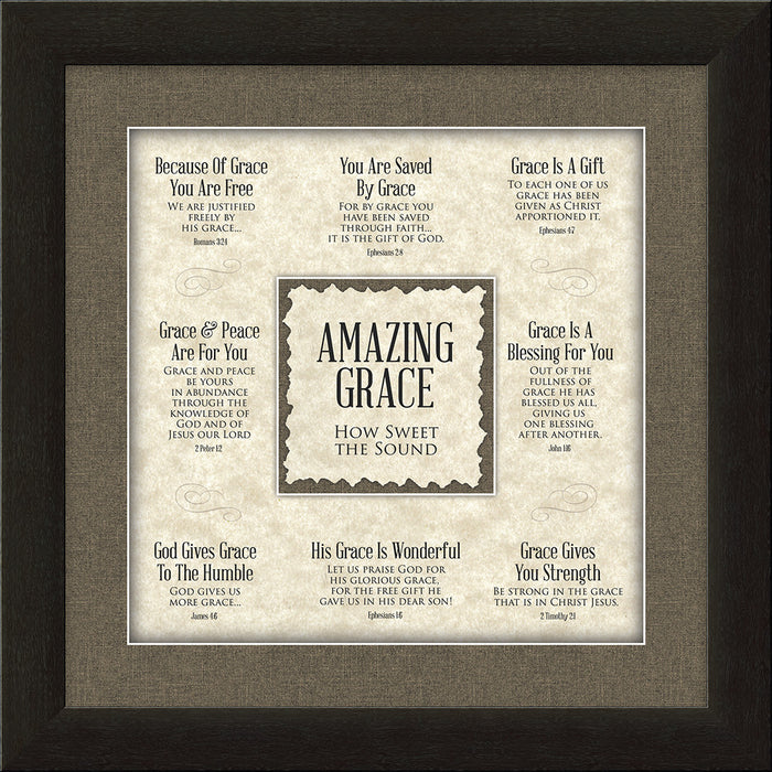 Amazing Grace Framed Art