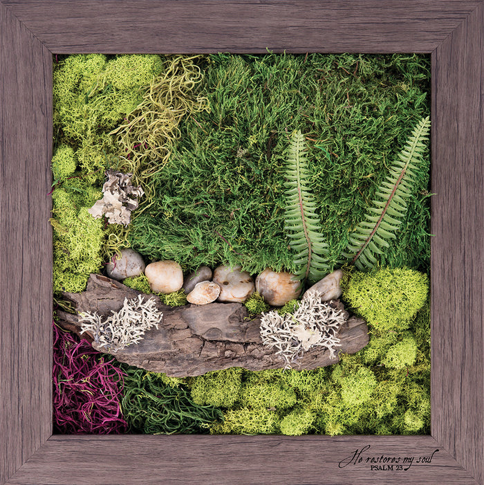 Psalm 23 - Biophilic Framed Art