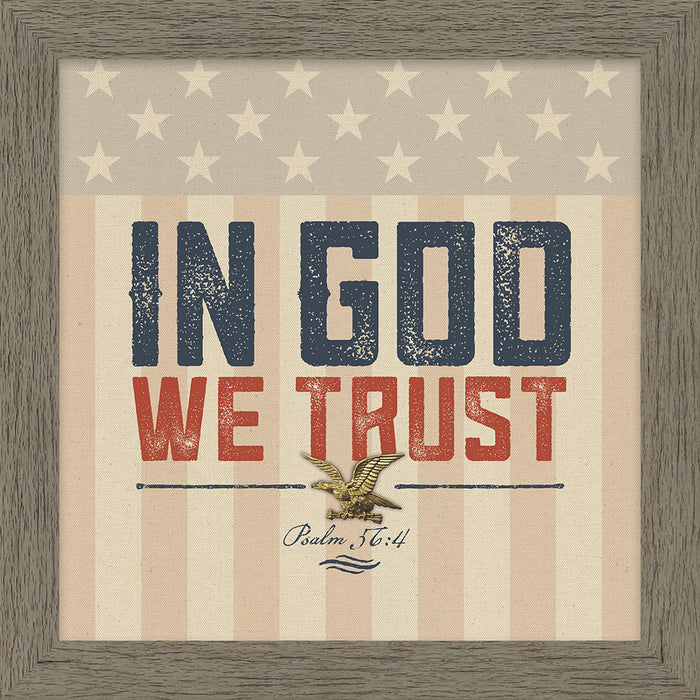 In God We Trust Framed Art (46556)