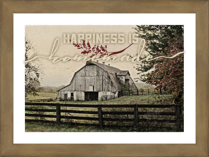Happiness Is Framed Art - Carpentree