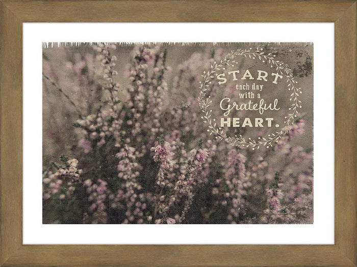 Grateful Heart Framed Art Framed Art - Carpentree