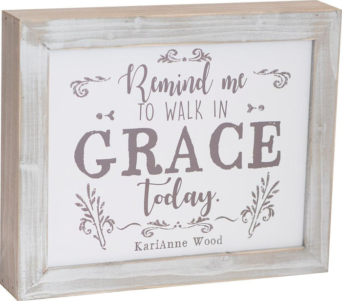 Walk in Grace Thistlewood Farms Framed Art