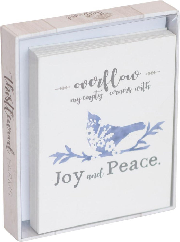 Joy and Peace Thistlewood Farms Boxed Cards