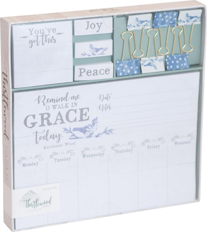 Walk in Grace Planner Set - Carpentree