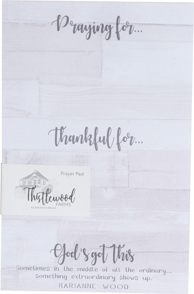 Thistlewood Farms Prayer Notepad