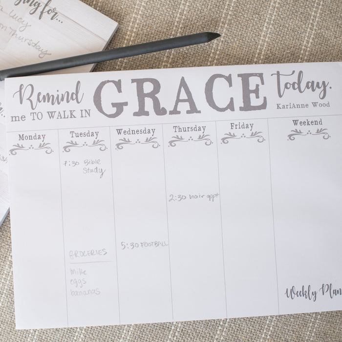 Walk in Grace Jumbo Planner - Carpentree
