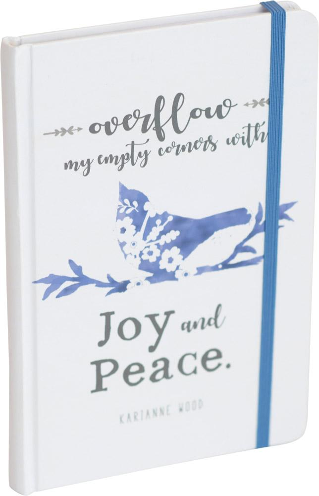Joy and Peace Thistlewood Farms Journal with Bungee