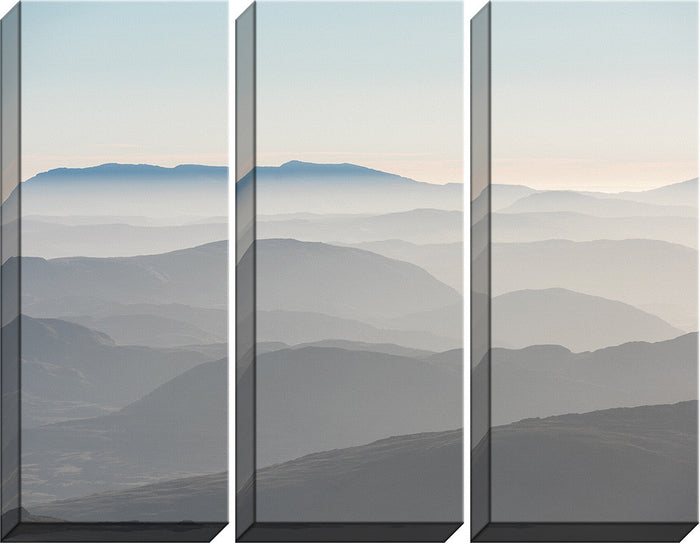 Mountains Triptych Canvas