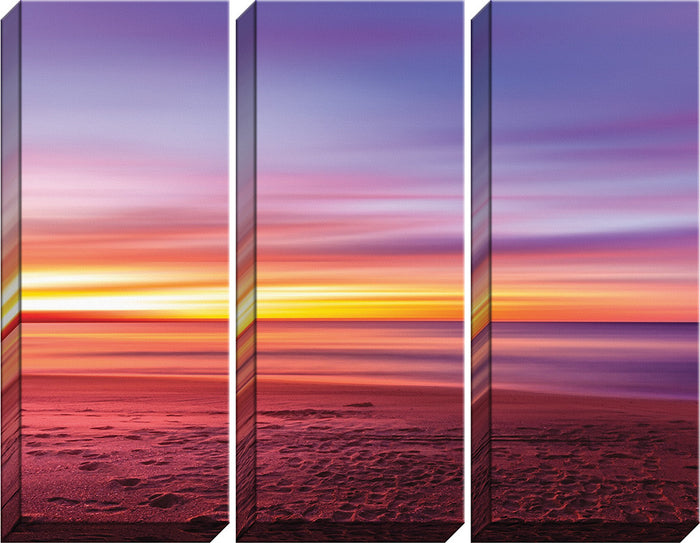 Beach Triptych Canvas