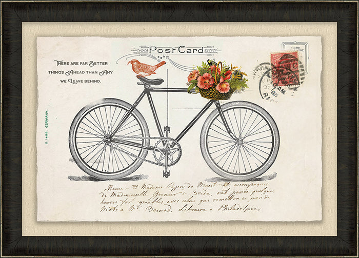 Bicycle Vintage Post Card