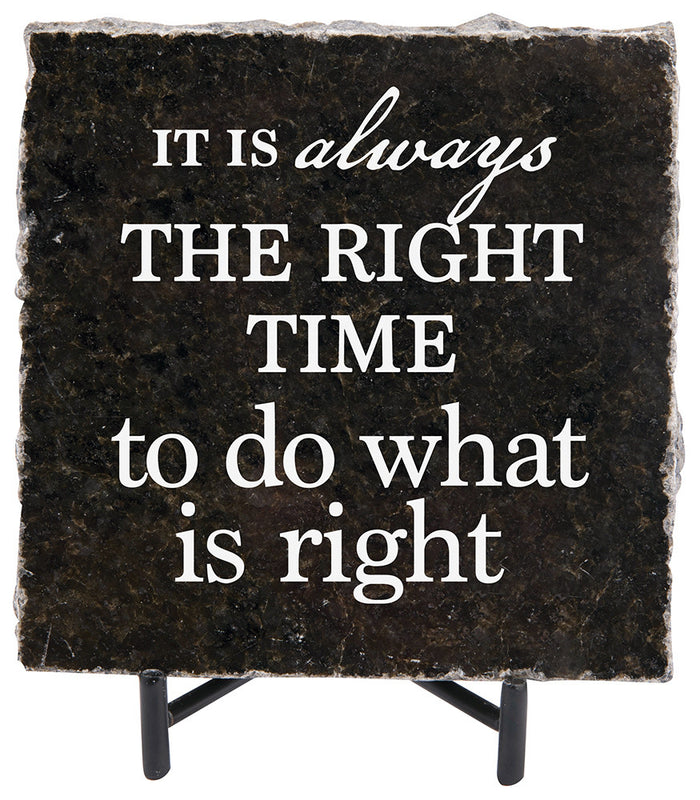 The Right Time Granite Gift - Carpentree