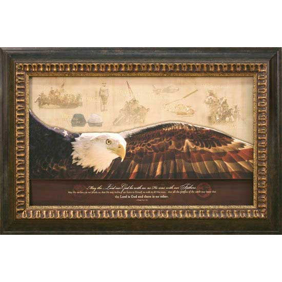 American Legacy Framed Art - Carpentree
