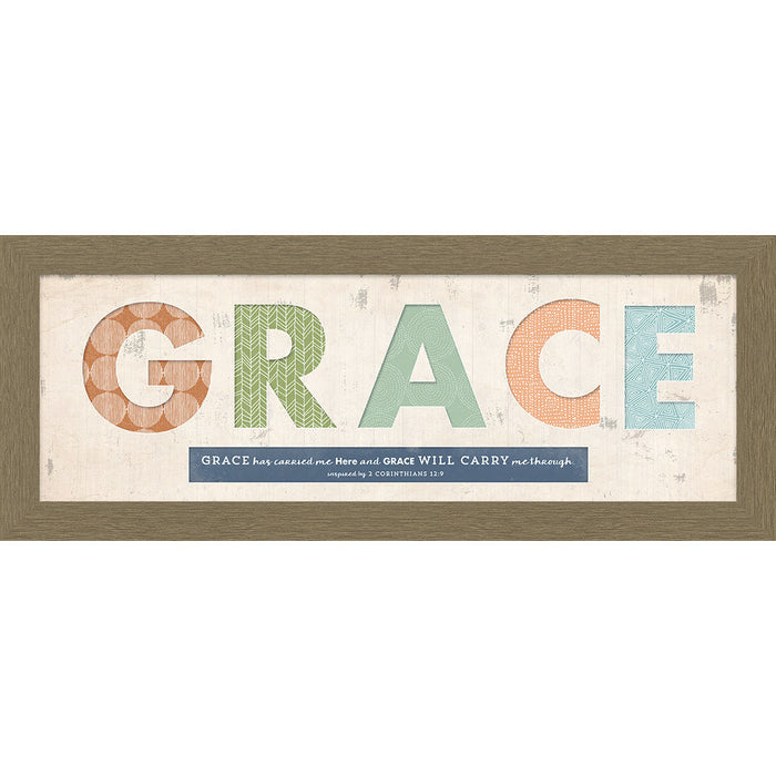 Grace Cut Out Framed Art