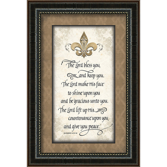 The Lord Bless You Framed Art - Carpentree