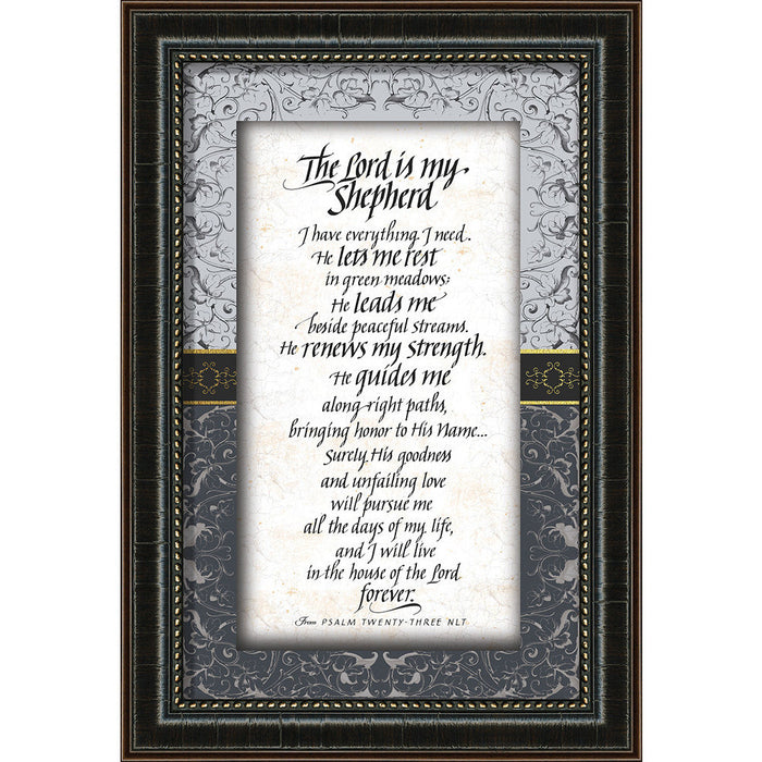 The Lord Is My Shepherd Framed Art - Carpentree