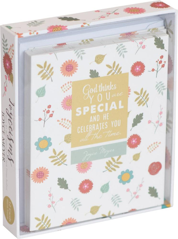 God Thinks You are Special Joyce Meyer Boxed Cards - Carpentree